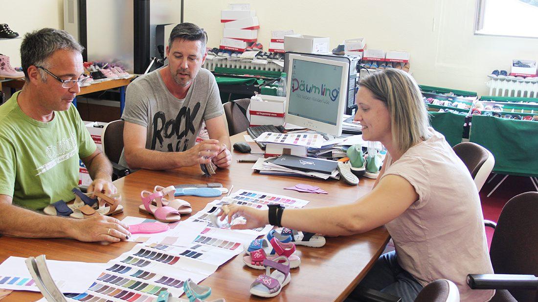 besprechnung kollektion fuer kinderschuhe frühjahr sommer 2019